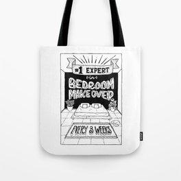 Bedroom Makeover Award Tote Bag