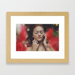 Karina Portrait Framed Art Print