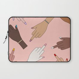 Worldwide Babes Laptop Sleeve