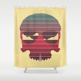Summer Skull Shower Curtain