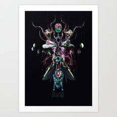 GOGGA Art Print