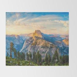 Heaven and Earth, Yosemite Throw Blanket