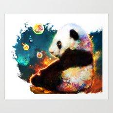 pandas dream Art Print