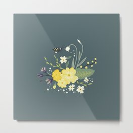 A walk in the woods - Spot graphic Metal Print