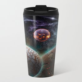 Deep Space Flare Metal Travel Mug