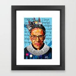 Ruth Ginsburg Framed Art Print