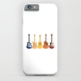 Guitarist Life Is Full Of Important Choices Guitar Collector Gift iPhone Case