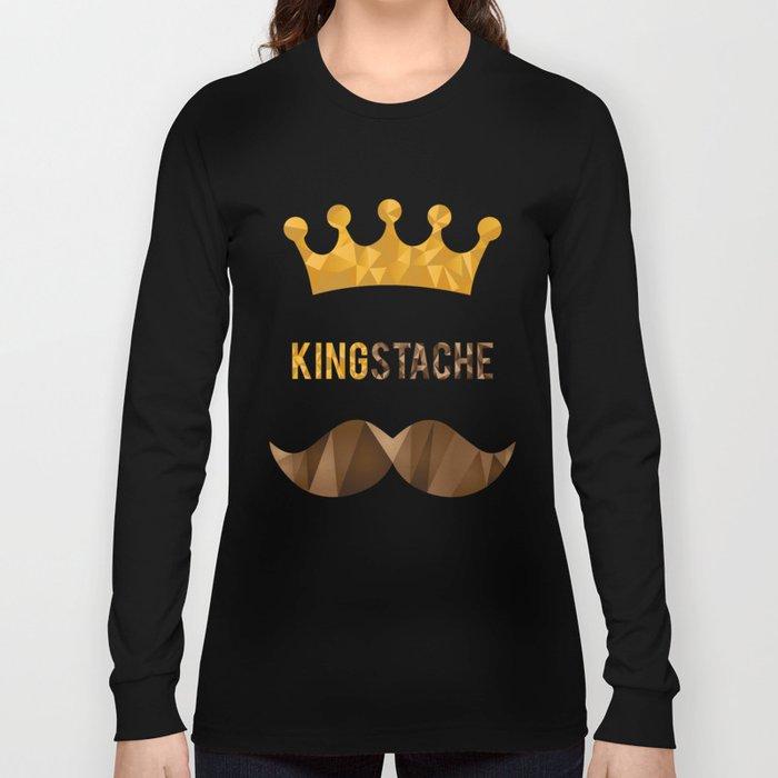 KingStache Long Sleeve T-shirt