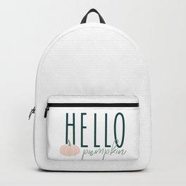 Hello Pumpkin Backpack