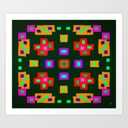 Symmetric composition 32 Art Print