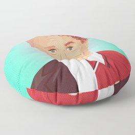 Two Faces of Ole Gunnar Solskjaer Floor Pillow