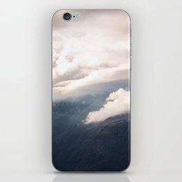 Sunlight over Zermatt iPhone Skin