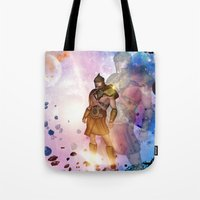 hercules Tote Bags featuring Hercules by nicky2342