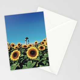 Sunflowers & Snapshots Stationery Cards