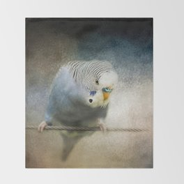 The Budgie Collection - Budgie 3 Throw Blanket