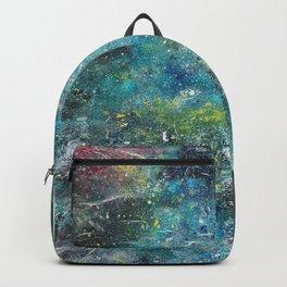 A galactic ocean - Painting Backpack