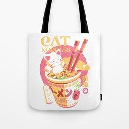 Cat Noodles Tote Bag