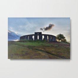 Stonehenge WWI Memorial Metal Print