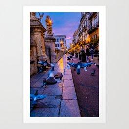 Palermo 2 Art Print