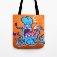 cooking Tote Bags featuring Extreme Cooking by Zoo&co on Society6 Products