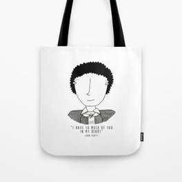 Literary Love: John Keats Tote Bag