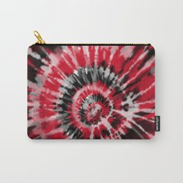 Red Tie Dye Carry-All Pouch