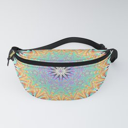 Untangled Mandala - Digital Art  Fanny Pack