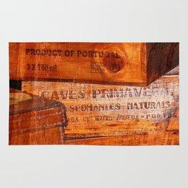 Wine crates Rug
