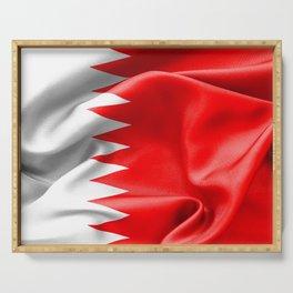 Qatar Flag Serving Tray