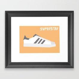 Superstar Minimalist Framed Art Print