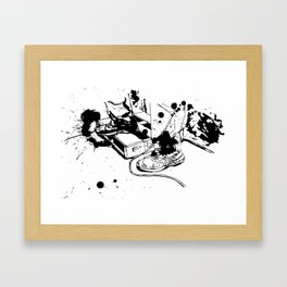 Jam Spot Framed Art Print