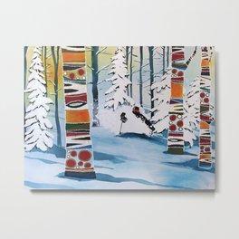 Freshie Forest Metal Print