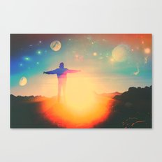 Can't Beat The Feeling Canvas Print