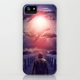The Space Between Dreams & Reality iPhone Case