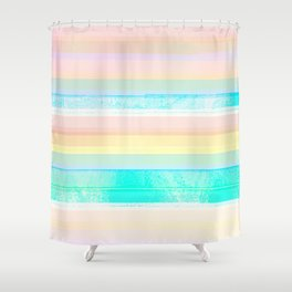 Faded Vintage Color Shower Curtain