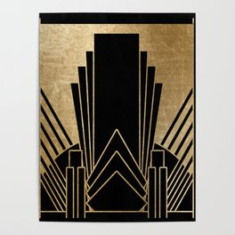 Art deco design Poster