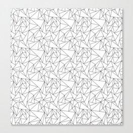 Geometric Triangels  Canvas Print