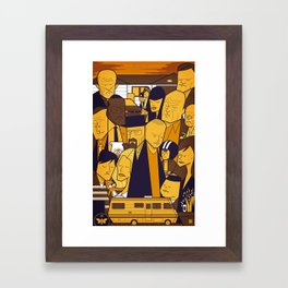 Breaking Bad (yellow version) Framed Art Print