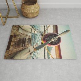 Seaplane Dock Rug