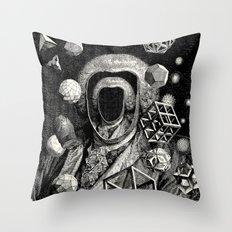 Polyhedra Throw Pillow