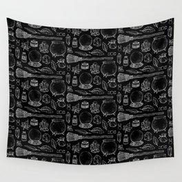 Witchcraft I [Black] Wall Tapestry