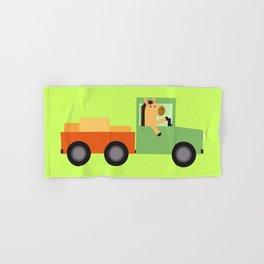 Horse on Truck Hand & Bath Towel