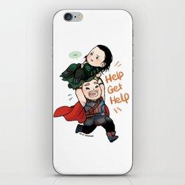 Get Help Brother! iPhone Skin