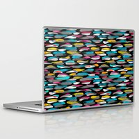 stripes Laptop & iPad Skins featuring Stripes by Meryl Pardoen