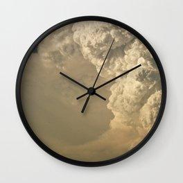 Fire Cloud Wall Clock