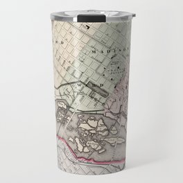 Vintage Map of Richmond Virginia (1884) Travel Mug
