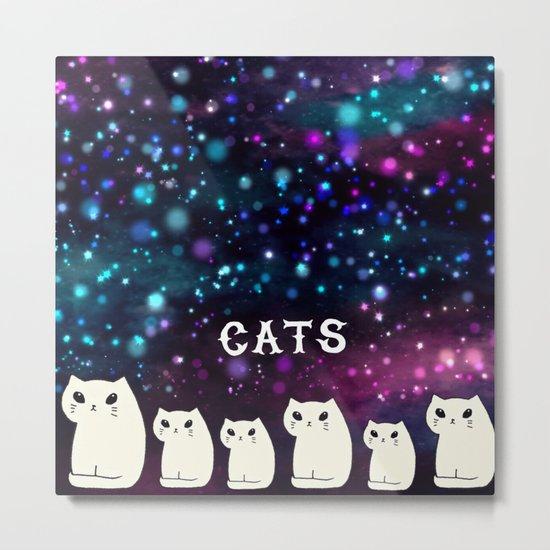 cats-427 Metal Print
