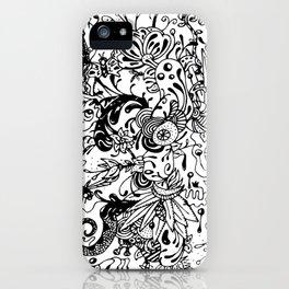 Ink Garden iPhone Case
