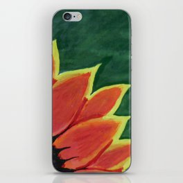 Fire Flower iPhone Skin