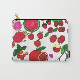 Red Fruits Drawing Carry-All Pouch